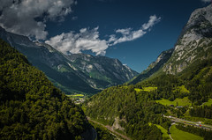 Austrian mountains (alex.salt) Tags: austria hohenwerfen clouds landscape mountains public sky pentaxk5 smcpentaxda1855mmf3556alwr 18mm