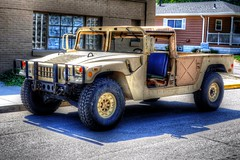Humvee (stylized) (mrgraphic2) Tags: humvee stylized jeep military vehicle army marines transportation hdr