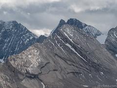 Giant slabs (David R. Crowe) Tags: landscape mountain nature outdooractivities scrambling kananaskis alberta canada