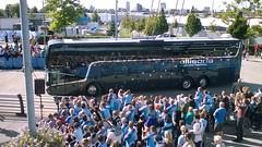 Ellisons WSM3 17092016 (Rossendalian2013) Tags: ellisonstravelsthelens coach bus vanhool tdx21 altano wsm3 yd14gdv etihadstadium manchester manchestercityfc