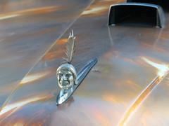 1952 Ford F7 HoodArt (bballchico) Tags: 1952 ford f7 bigjob hotrod pickuptruck truck jakehughes billetproof billetproofantioch carshow 1950s hoodornament hoodart