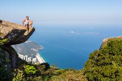 IMG_5080 (sergeysemendyaev) Tags: 2016 rio riodejaneiro brazil pedradagavea    hiking adventure best    travel nature   landscape scenery rock mountain    high forest  ocean   blue