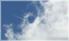 Flug ins Wolkenloch * Flight into the hole *   .   P1320812-001 (maya.walti HK) Tags: 2016 balearen cielo clouds copyrightbymayawaltihk espaa flickr heaven himmel mallorca nubes panasoniclumixfz200 spain spanien wolken