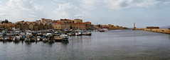 Chania_10_30102016-1305 (john houv) Tags: chania crete mediterranean oldharbour oldharbor lighthouse reflection