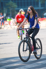 Any given sunday 526 (L Urquiza) Tags: bici mexico girl paseo dominical sunday stroll city ciudad cdmx de la reforma