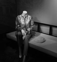 90 Years Ms Monroe (Miranda Ruiter) Tags: exhibition marilynmonroe clothes blackandwhite nieuwekerk amsterdam