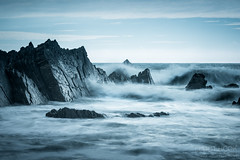 Harland Quay I (elliot.hook) Tags: hartland quay hartlandquay devon north landscape seascape ocean sea waves rocks sun uk british outdoor