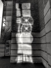 Abstract reflections (35mmMan) Tags: huaweip9plus abstract arty reflections android cameraphone monochrome blackwhite