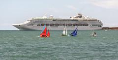 Dawn Princess, Napier Port, Hawkes Bay, NZ - 3/12/16 (Grumpy Eye) Tags: nikon d7000 nikkor 105mm 28 napier port dawn princess