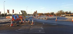 A41 changes, Bicester, December 2016 (sbally1) Tags: a41 bicester construction