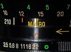 Vintage lens arrow (mark196611) Tags: closeup manual vintage macro lens macromondays arrow