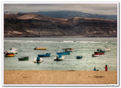 Las Palmas de G. Canaria.. (JLuis San Agustn) Tags: 2014 canarias laspalmas mar barcas