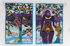 DUI_8182r (crobart) Tags: world treads festival oakville cloth fabric fibre textile art artwork