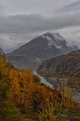 Hunza River (Shehzaad Maroof Khan) Tags: hunza autumn river glacier water karakoram valley nature landscape gilgitbaltistan pakistan fog