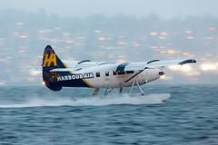 Last Arrival (Jason Pineau) Tags: harbourair dhc3 dhc3t otter coalharbour cyhc vancouver britishcolumbia bc floatplane seaplane dusk dawn twilight