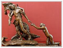 Camille Claudel - L'ge mur - 1897 (thierrymasson94) Tags: camille claudel musedorsay paris france sculpture camilleclaudel lgemur bronze