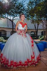 Gabriela's Quinceaera (Haro Studios) Tags: dress quinceaera quinceanera quince girl lady white red church dallas