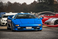 Diablo SuperVeloce. (David Clemente Photography) Tags: lamborghini diablo diablosv superveloce sv lamborghinidiablo lamborghinidiablosv v12 autodromomonza automotivephotography cars supercars hypercars