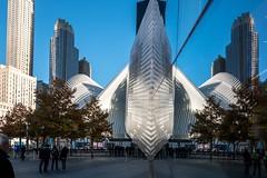WTC Museum (caracir) Tags: newyork wtc museum mirror spiegelungen park building architecture city reflections