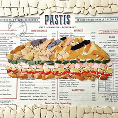 SANDWICH (sofiacombal) Tags: mosaics mosaicos azulejos art food foodart