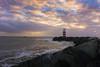 DSC03466 (De Hollena) Tags: coucherdesoleil faro holland ijmuiden lespaysbas leuchtturm lighthouse nederland niederlande noordholland noordzee nordholland nordsee ocaso phare pier sonnenuntergang sunset thenetherlands vuurtoren zonsondergang