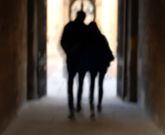 romantic Oxford... (bonnevillekid) Tags: oxforduniversity blur quadrangle college students