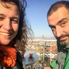 A tea, overlooking Bursa