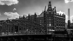 Hamburg - Hafen City 03 (jerry_lake) Tags: bw d700 germany hafencity hamburg july2014 lightroomcc nikon2470mmf28 photoshopcc20155 silverefexpro2