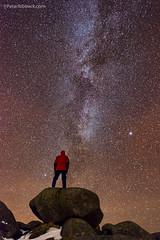 Under The Stars, Isle of Arran (Peter Ribbeck) Tags: peterribbeck arran goatfell selfie ayrshirescotland scotland ayrshire milkyway stars nighttime