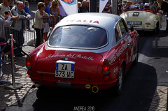 Alfa Romeo Giulietta Sprin Veloce (Andrea the sleeper) Tags: scuderia del portello coppa doro delle dolomiti cortina dampezzo andrea sleeper automotive photographer aci asi storico classic classico car auto race racecar