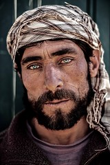 Sultan Ishkashim, Afghanistan (silvia.alessi) Tags: portrait people eyes green afghanistan mountain man capture street blueeyes