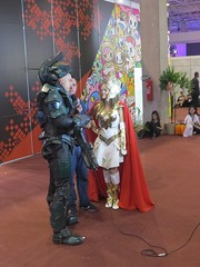 IMG_3537 (Ricardo Jurczyk Pinheiro) Tags: sopauloexpo jornal shera entrevista culturapop sbt sopaulo halo cosplay evento masterchief ccxp