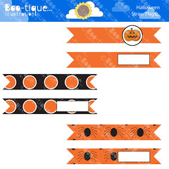 Halloween Straw Flags for Instant Download. Printable Halloween Straw Flags. Orange and Black Straw Flags PDF. (bootiqueillustration) Tags: party orange black halloween scrapbooking pumpkin spiders flag straw flags balck download instant etsy printables printable staw etsyuk cardmakng bootiqueillustration