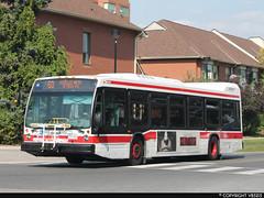 Toronto Transit Commission #8444 (vb5215's Transportation Gallery) Tags: toronto bus nova ttc transit commission lfs 2015