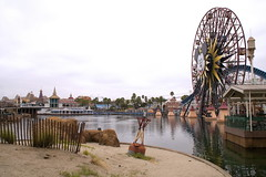 DCA Beach on an overcast day (GMLSKIS) Tags: disney dca californiaadventure beach california amusementpark anaheim