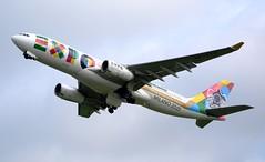 Etihad Airways Airbus A330-243 A6-EYH Climb (Mark 1991) Tags: edinburgh airbus edi a330 etihadairways a330200 etihad edinburghairport a6eyh
