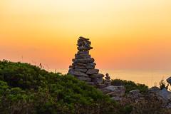 Punta de n' Amer (gondolin75) Tags: sea summer holiday beach strand sunrise de island spain meer stones sommer urlaub n steine punta mallorca sonnenaufgang cala spanien amer headland millor landzunge