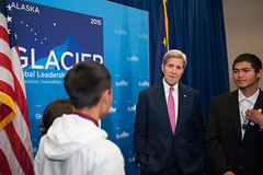 Secretary Kerry Meets Arctic Youth Ambassadors at the GLACIER Welcoming Reception (U.S. Department of State) Tags: alaska glacier arctic anchorage change johnkerry climate arcticcouncil