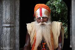 Kathmandu, Nepal (rafalsitarz) Tags: trip travel nepal portrait view kathmandu sadu aroudtheworld