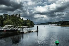 Loch Lomond Shores (Neillwphoto) Tags: sky clouds pier boat jetty paddle shore steamer balloch lochlomond