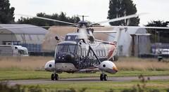 Sikorsky S-61N G-BFRI Lee on Solent Airfield 2015 (SupaSmokey) Tags: lee solent airfield sikorsky 2015 s61n gbfri