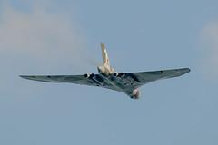 Vulcan XH558 departing (Rupert Brun) Tags: autumn plane kent aircraft jet aeroplane vulcan bomber whitstable xh558