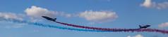 (mc_mathys) Tags: blue red sky cloud white france de army flying crossing force francaise aviation smoke air explosion meeting best bleu ciel figure planes nuages avion lair arme aerobatics fume patrouille voltige croisement eclatement