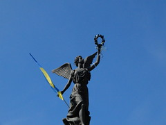 (GrusiaKot) Tags: monument flag ukraine victory kharkov kharkiv ucraina
