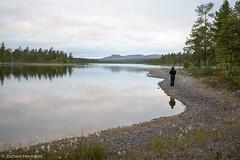 Femunden und Jmtland-413 (jo.hermann) Tags: nature norway landscape see norge fishing scenery outdoor schweden norwegen canoe mohawk sverige kanu clearwater shimano angeln gatz paddeln femunden eveningmood femund feragen
