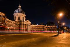 L'institut de nuit (MF[FR]) Tags: paris france night lights trails samsung iledefrance institut nx1 baladesparisiennes