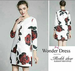 🎀NEW ARIVAL 2015🎀 D&G PREMIUM CADIGAN BY WONDER DRESS สินค้าพร้อมส่งจร้า       เสื้อคลุมลายใหม่ล่าสุดจากแบรนด์ D&G เนื้อผ้าเดียวกันกับ ในช๊อปเลยจร้า ผ้าสวยพิมพ์ลายนูนในตัว ดีเทลงานพิมพ์ลาย ดอกกุหลาบ สีแดง งานปราณีต ลายชัดมากค่ะ สวยงาม หรูหรา