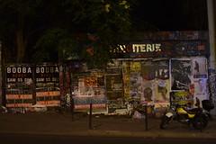 Paris - Booba, Booba - (Smoke-Head Photography) Tags: street light urban paris france art wall night dark graffiti darkness tag reflet lumiere moto miroir rue mur nuit miror affiche urbain motocycle booba ménilmontant 75020 miroiterie nikond5500