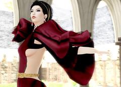 JUMO - Lupe Gown (Rehana Seljan (Japan)) Tags: fashion secondlife lamb zoz rehana newrelease jumo slink posesion chopzuey