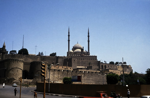 """Ägypten 1983 (16) Kairo: Zitadelle von Saladin • <a style=""""font-size:0.8em;"""" href=""""http://www.flickr.com/photos/69570948@N04/22369120443/"""" target=""""_blank"""">Auf Flickr ansehen</a>"""